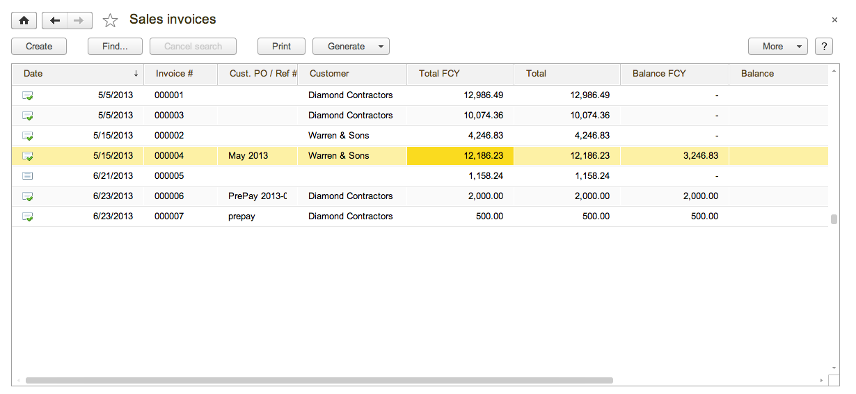 Sales Module: Orders, Invoicing, Returns, Refunds and Payments