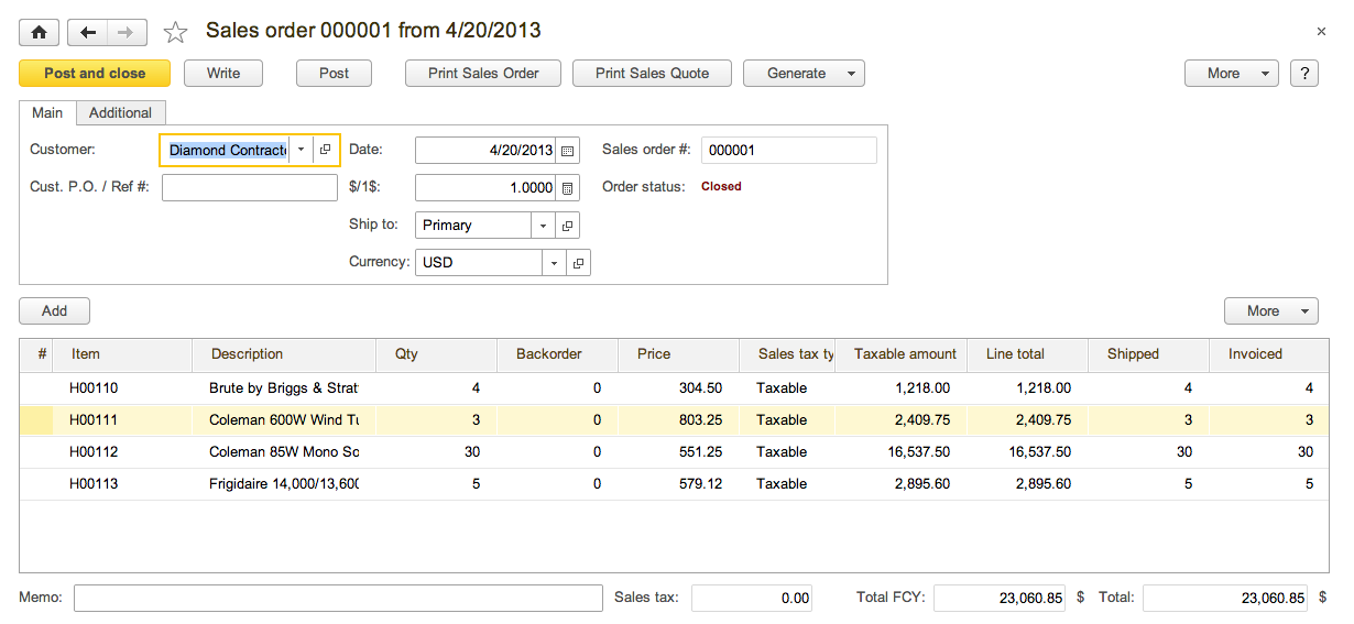 Sales Module Orders Invoicing Returns Refunds And Payments - Order invoices online
