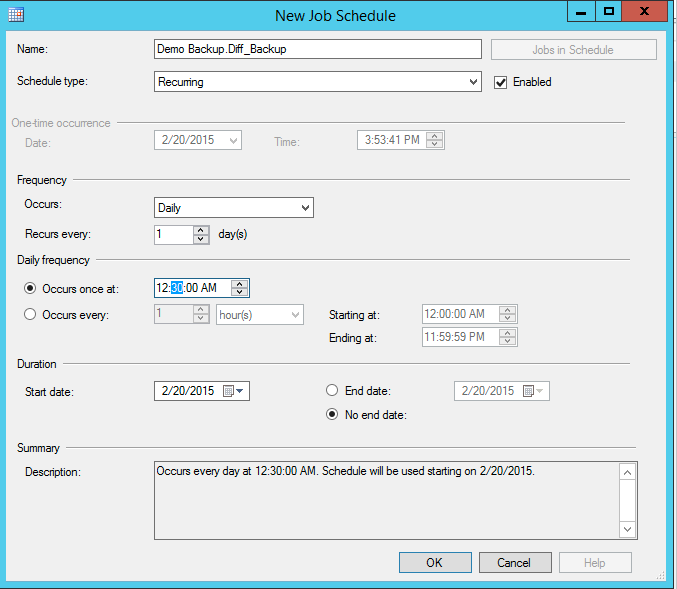 Backup And Restore C Infobases Using SQL Server - Backup and restore procedures template