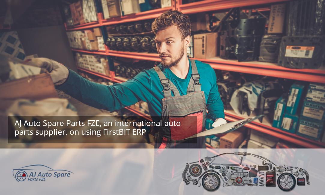 AJ Auto Spare Parts FZE, an international auto parts